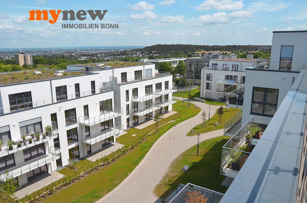 Blick über das Finkenhof-Viertel