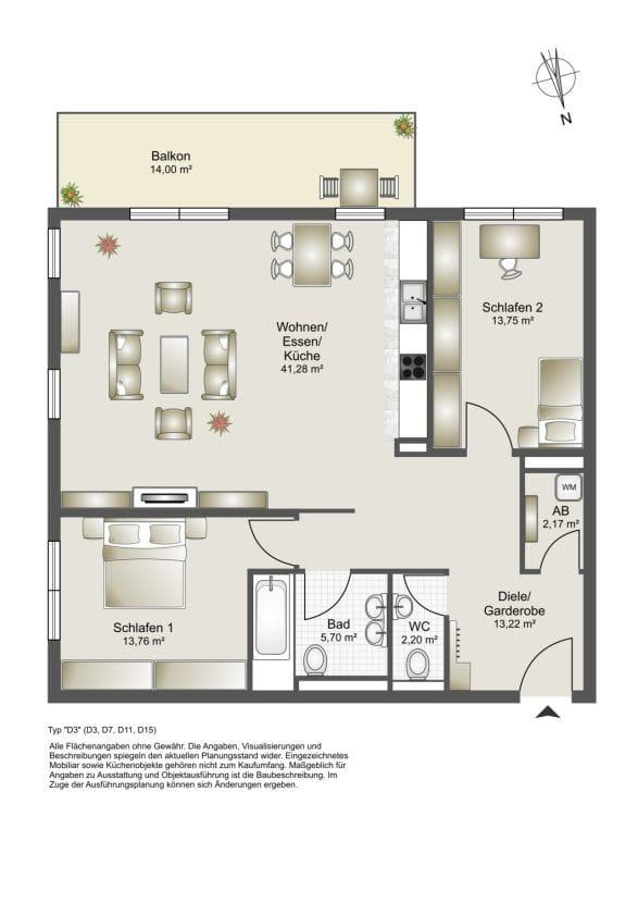 Drei-Zimmer-Wohnung-Finkenhofpark-D15-Grundriss